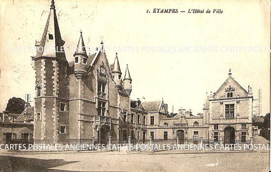 Cartes Postales Anciennes France Aisne  Etampes Sur Marne