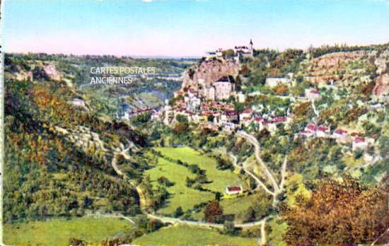 Cartes Postales Anciennes  Rocamadour