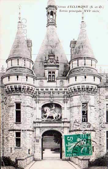 Cartes Postales Anciennes  St Symphorien Le Chateau