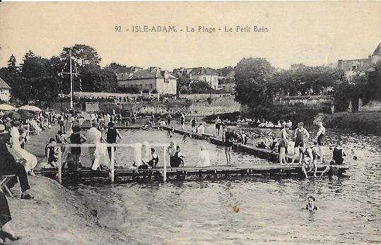 Cartes Postales Anciennes Val d'oise L Isle Adam