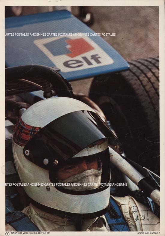 Cartes Postales Anciennes Automobiles motos