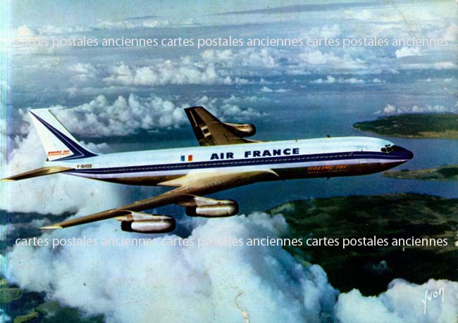 Old postcards aviation