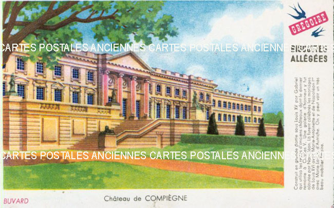 Cartes Postales Anciennes Buvard