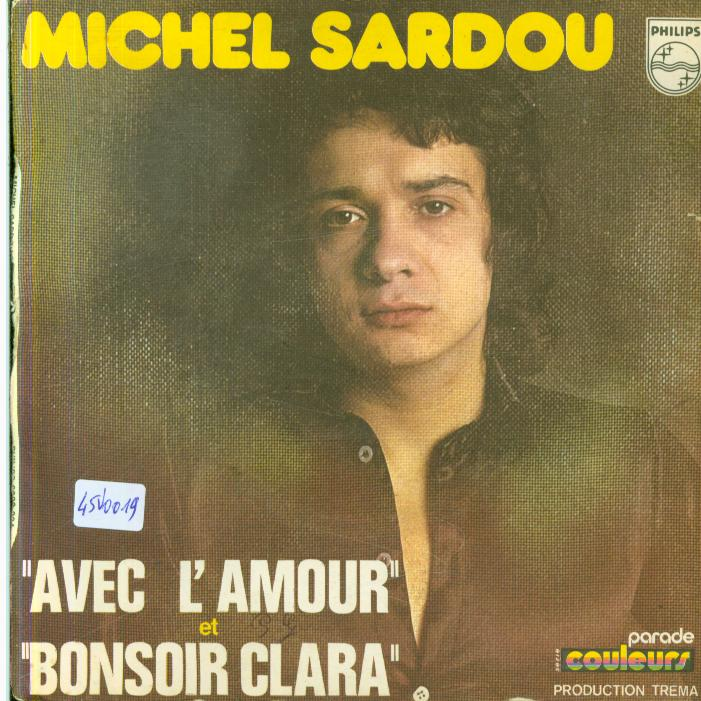Autres collections Music vinyl record 45 tours Michel sardou