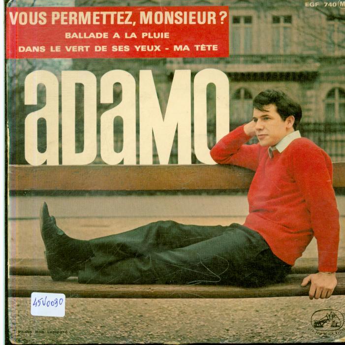 Autres collections  disques vinyle laser cd dvd 45 tours Adamo disques