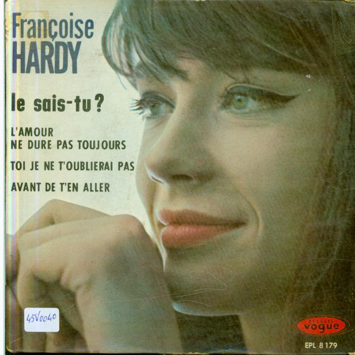 Autres collections Music vinyl record 45 tours Françoise hardy