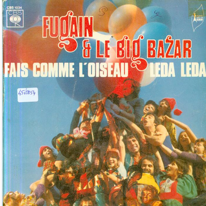 Autres collections Music vinyl record 45 tours Michel fugain