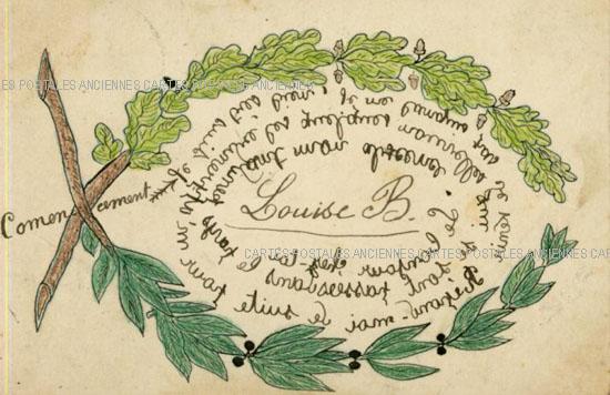 Cartes Postales Anciennes France Fantaisie Fantaisie divers