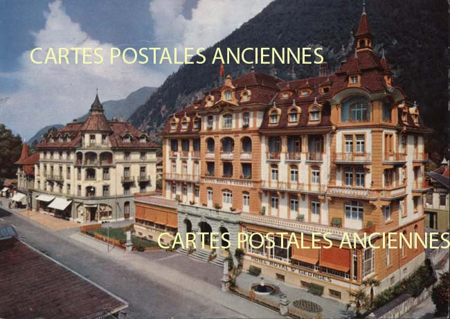 Old postcards monuments