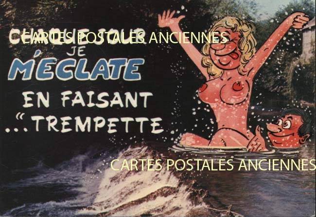 Sexy old postcards Femmes