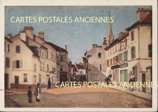 Cartes Postales Anciennes Tableau sculpture