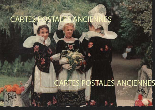 Cartes Postales Anciennes Tradition france monde Olonne Sur Mer