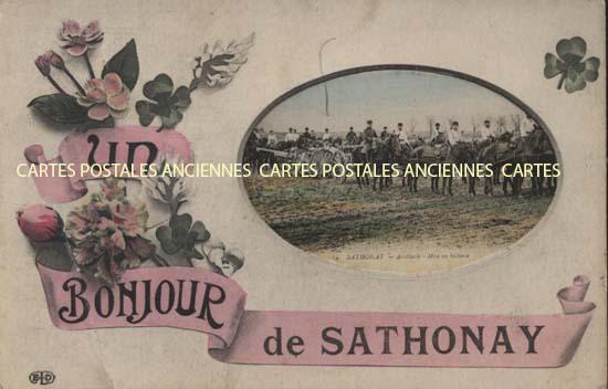 rhône  Sathonay Camp