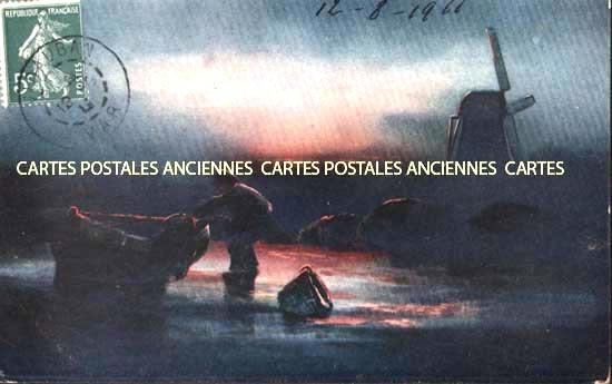 Old postcards landscape