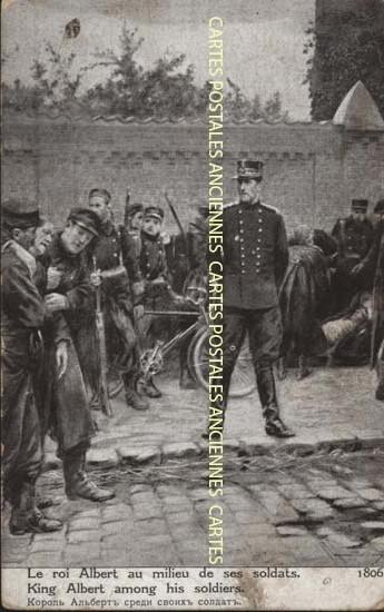 Cartes Postales Anciennes  militaire Tableaux
