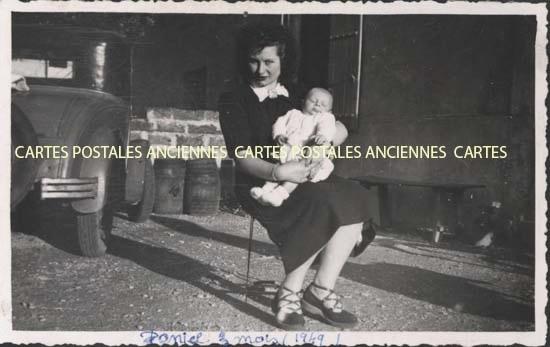 Cartes Postales Anciennes Photos Femme enfants