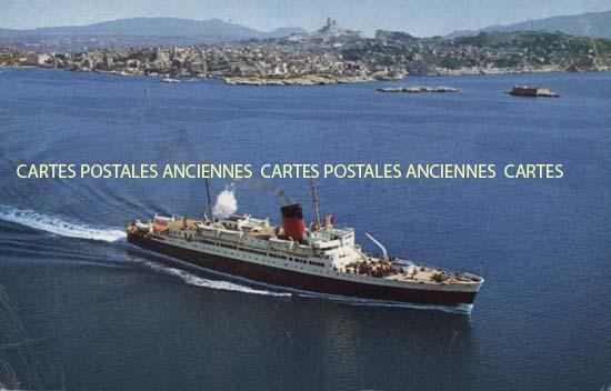 Cartes Postales Anciennes France Bâteau mer
