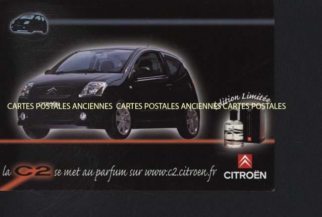Postcards advertising Garages voitures