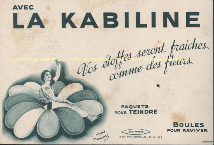 Cartes Postales Anciennes  buvard Droguerie