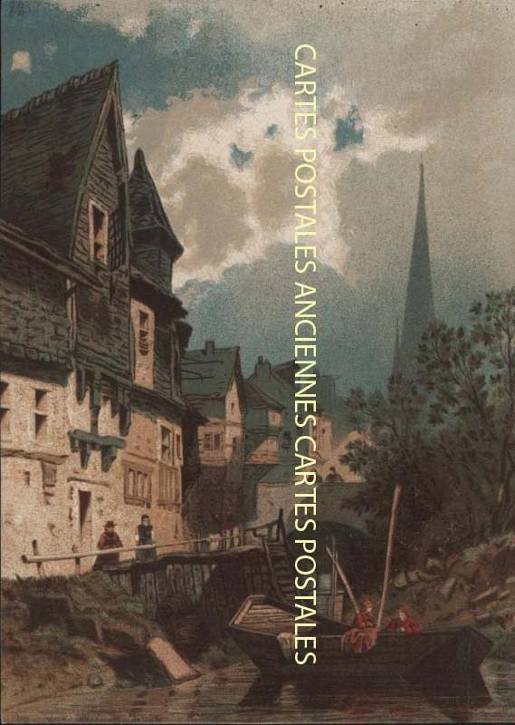 Cartes Postales Anciennes  fantaisie Illustrateur Iilustrateur pêche