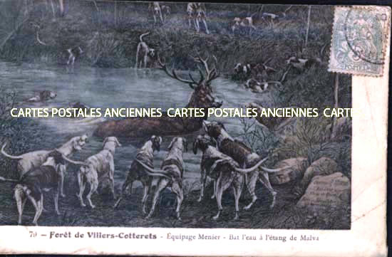 Cartes Postales Anciennes France Aisne  Villers Cotterets