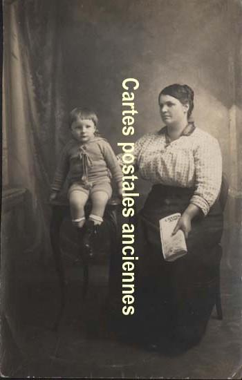 Old photos Femme enfants