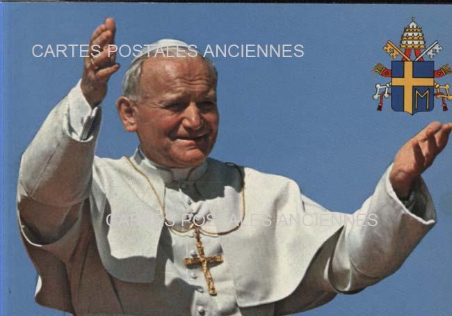 Postcards religion image Pape