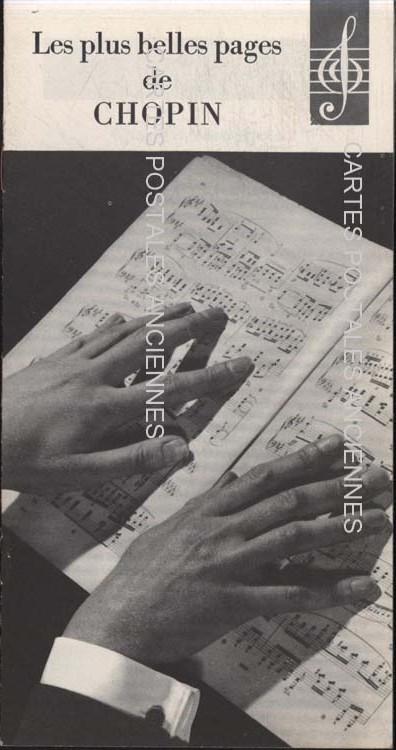Autres collections Musical score Livret chopin