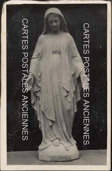 Old postcards painting, sculpture  sculpture religion