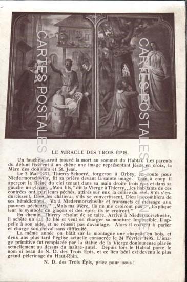 Postcards religion image Apôtres