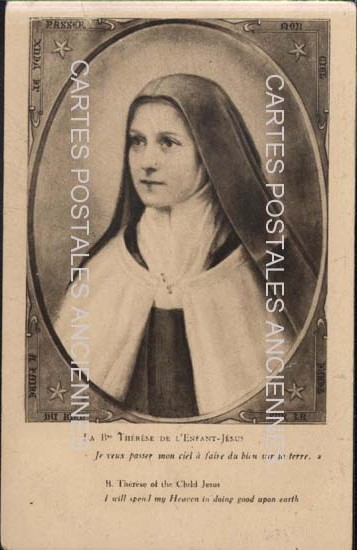 Postcards religion image Religion sainte thérèse