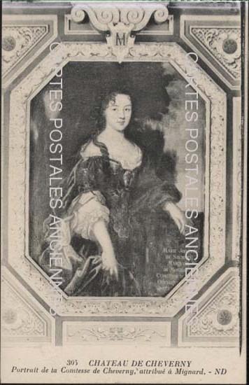 Cartes Postales Anciennes  Cheverny