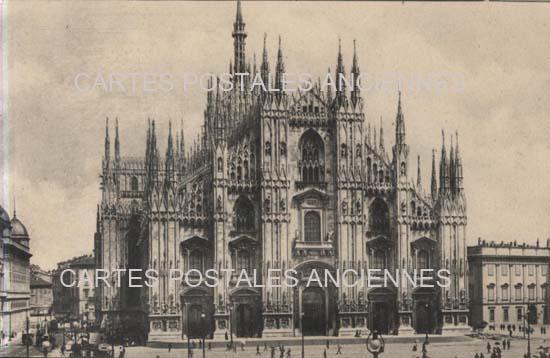 Old postcards monuments Monument eglise Cognat Lyonne