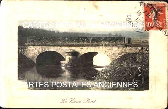 Old postcards monuments Monument pont Paris 13eme