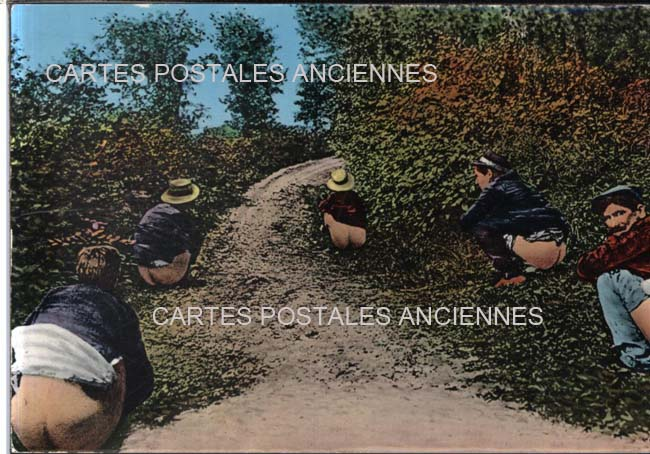 Sexy old postcards Hommes
