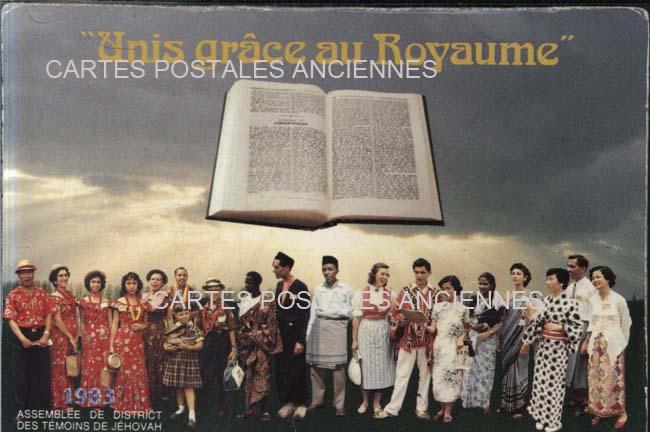 Cartes postales anciennes religion Témoins de jéhovah