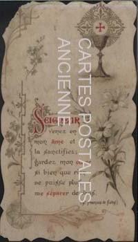 Cartes Postales Anciennes France Religion Souvenirs communion