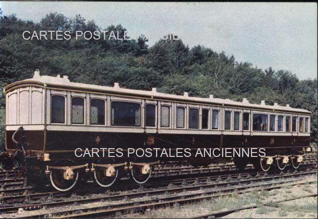 Cartes Postales Anciennes Chemin de fer   train Pithiviers