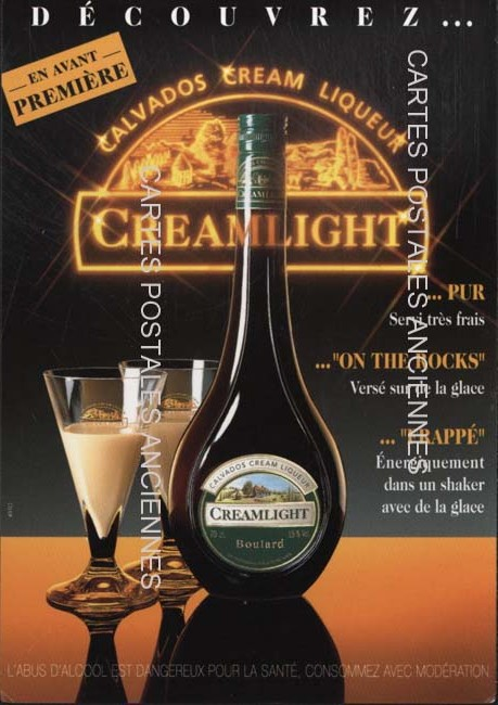 Postcards advertising Alcool