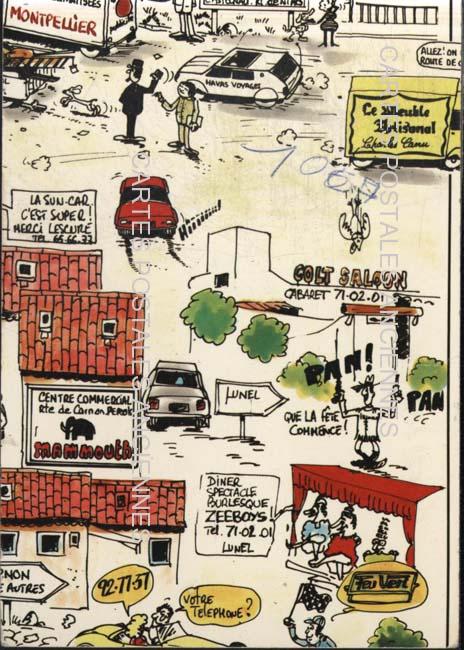 Cartes Postales Anciennes  Montpellier