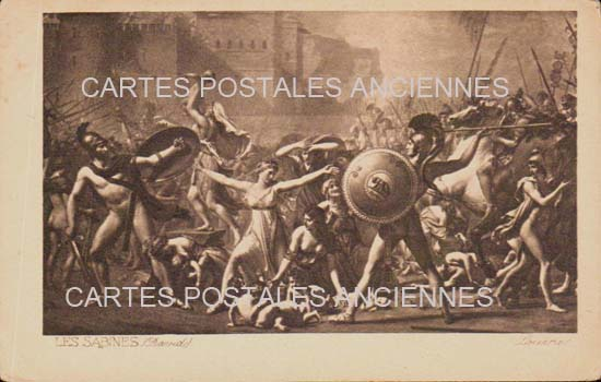 Old postcards military, army soldier Tableaux