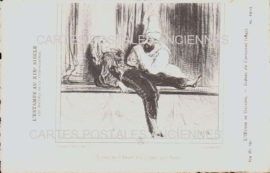 Cartes postales anciennes fantaisie Illustrateur Iilustrateur personnages