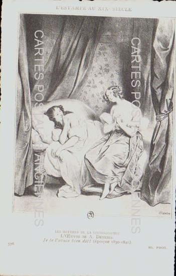 Old postcards fantasy Illustrator Iilustrateur personnages