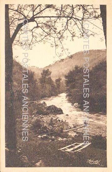 Old postcards landscape Old post cards mountain landscape