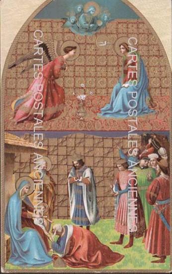 Cartes postales anciennes religion Apôtres