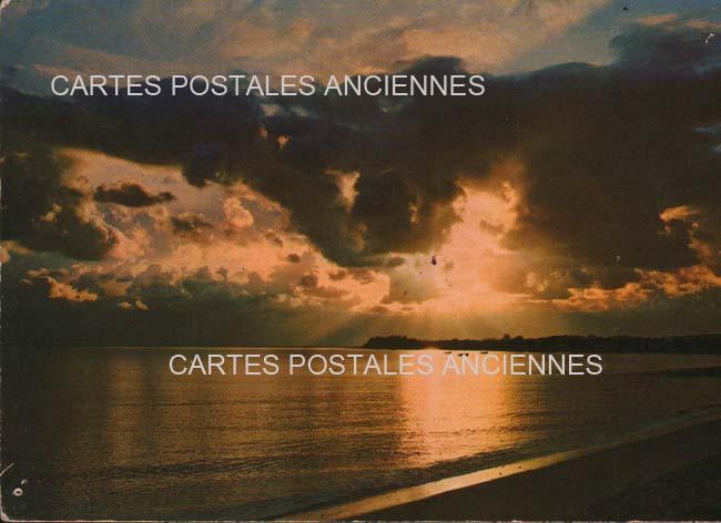Old postcards landscape Mer