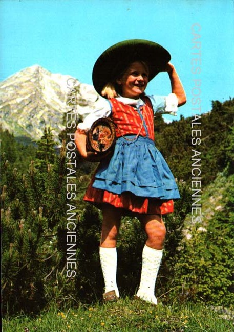 Old postcards tradition Tradition austria