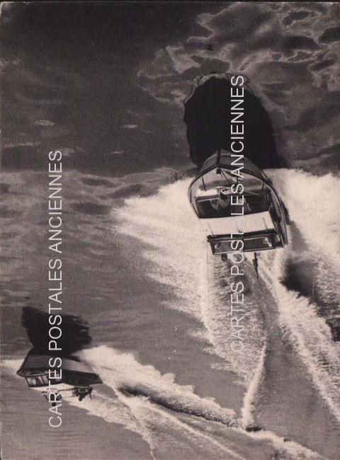 Cartes Postales Anciennes France Bâteau mer Bateaux de plaisance