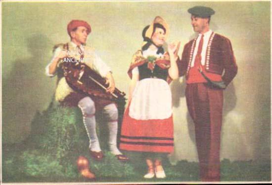 Cartes postales anciennes tradition Gascogne