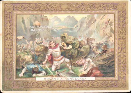 Cartes Postales Anciennes  tableau sculpture  tableau militaire